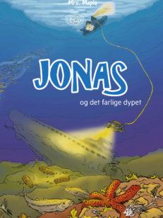 Bokomslag Jonas og der farlige dypet