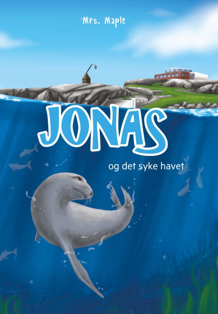 Bokomslag jonas og det syke havet